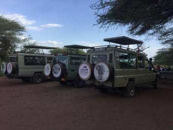 Safari Trackers Adventure Vehicles On Safari.